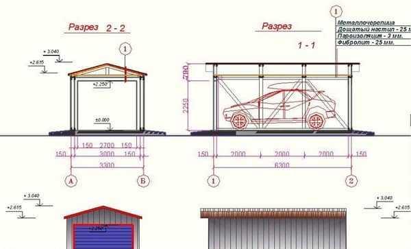 Как построить гараж своими руками дешево и быстро (+схемы) | стройсоветы
