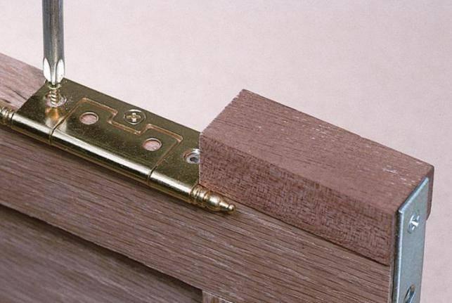 Установка петель на межкомнатные двери – пошаговая инструкция и видео