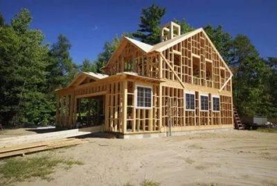 Каркасный одноэтажный дом 100 м2 – во сколько он обойдется при самостоятельном строительстве