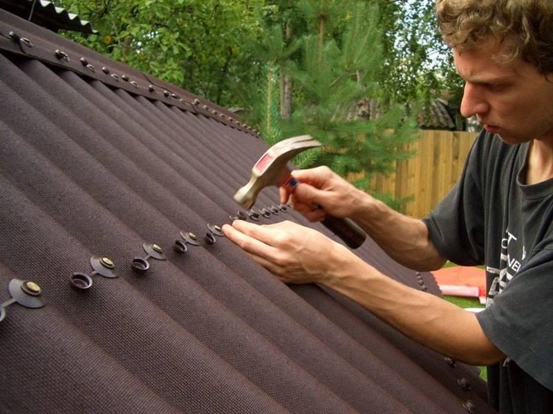 Французский шик: ондулин на крыше