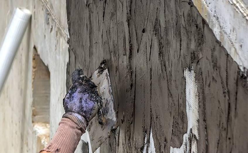 Цементная гидроизоляция обмазочного типа