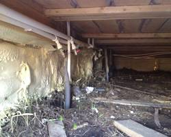 Как утеплить фундамент уже построенного деревянного дома снаружи своими руками — виды утеплителей