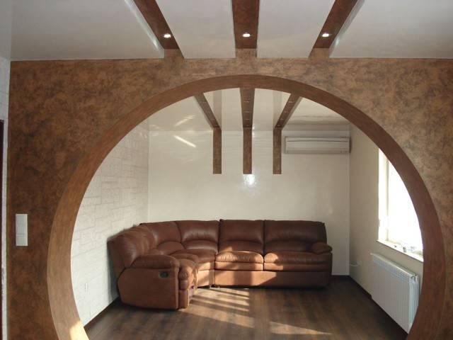 Как сделать арку — пошаговая инструкция как построить и оформить своими руками арку в интерьере (100 фото)