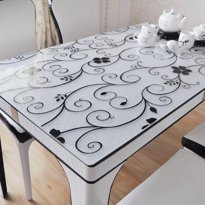 Прозрачная силиконовая накладка на стол : как называется эта защитная пленка, кожаные виды и варианты из поликарбоната для письменного стола, модели из ikea и от других производителей.