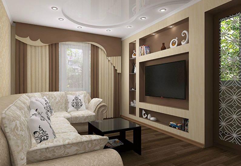 Ниша в спальне: 100 фото идей и новинок дизайна интерьеров