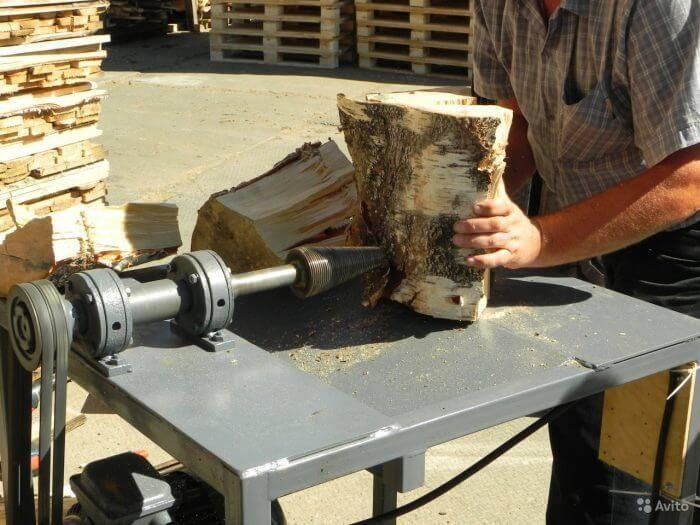 Конусный дровокол-шуруп. как сделать винтовой колун своими руками?