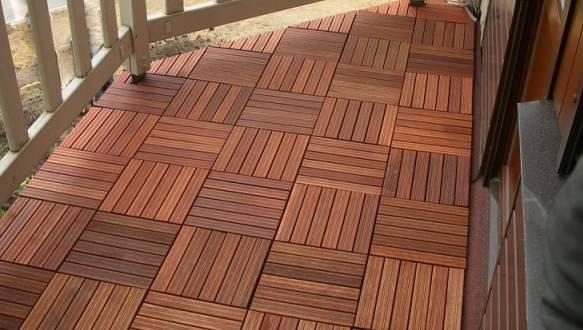 Напольное покрытие для балкона, лоджии и террасы