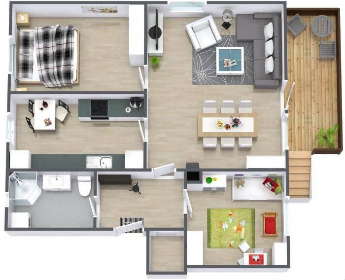 Интересные варианты планировок 2-х и 3-х комнатных хрущевок