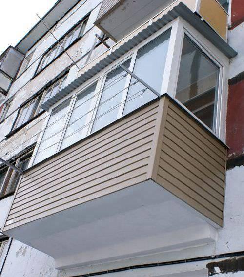 Обшивка балкона сайдингом внутри и снаружи своими руками - пошаговая инструкция с фото и видео