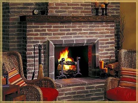 Облицовка печей и каминов - варианты и фото. чем отделать печь в доме?
