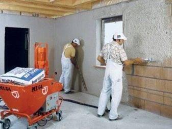 Машинная штукатурка стен спб | штукатурка стен машинным способом