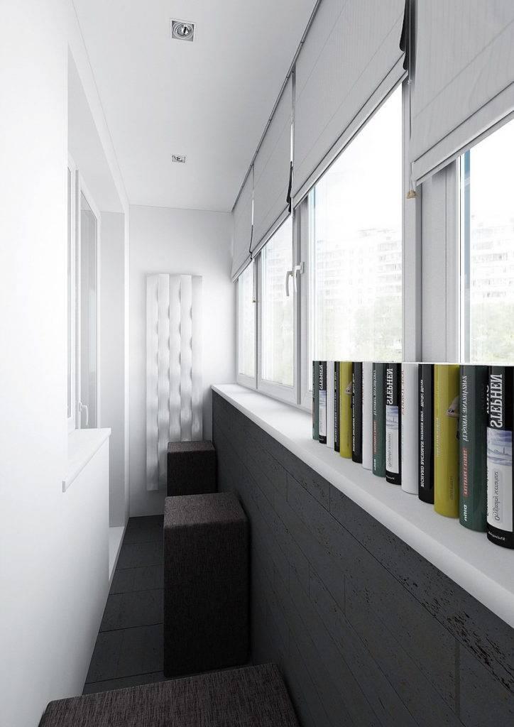 Отделка балкона внутри - 48 фото оформления