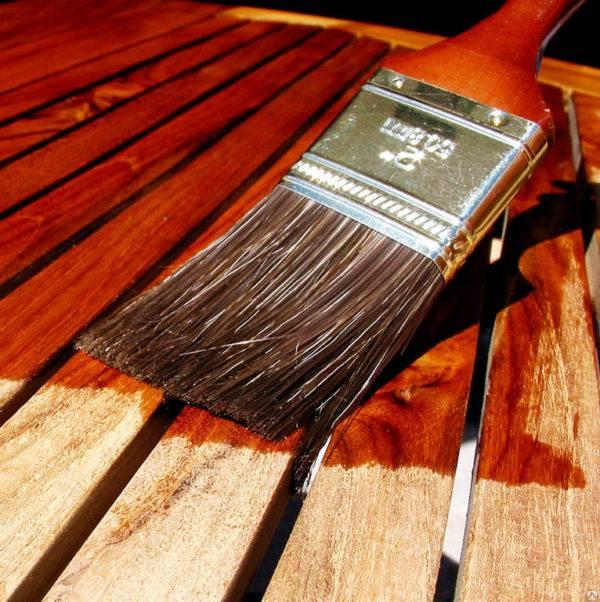 Акриловый лак на водной основе для дерева как наносить