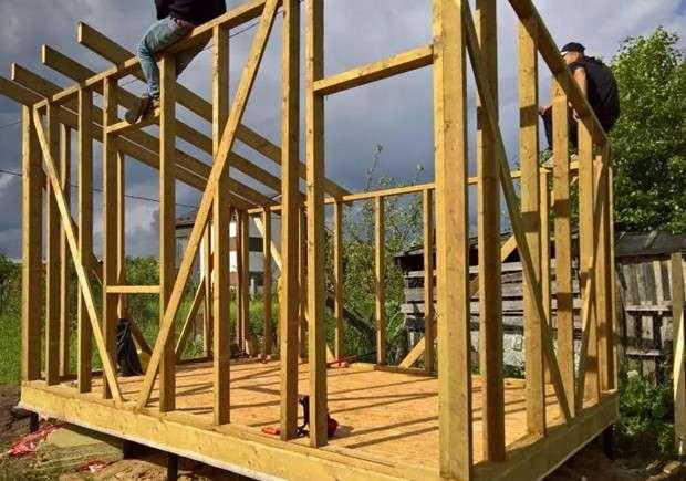 Сарай своими руками: 110 фото и видео мастер-класс как построить качественно сарай