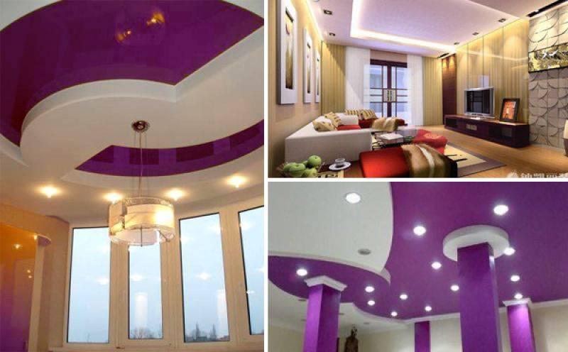Сатиновые натяжные потолки: 60+ фото, современные варианты оформления