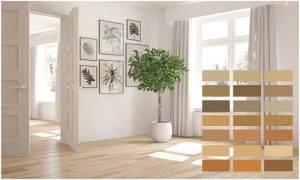 Двери под ламинат (49 фото): как подобрать сочетание пола и дверей цвета орех