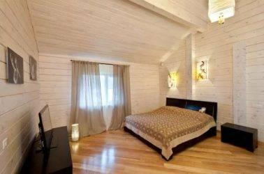 Покраска деревянного дома внутри - как выполнить самостоятельно