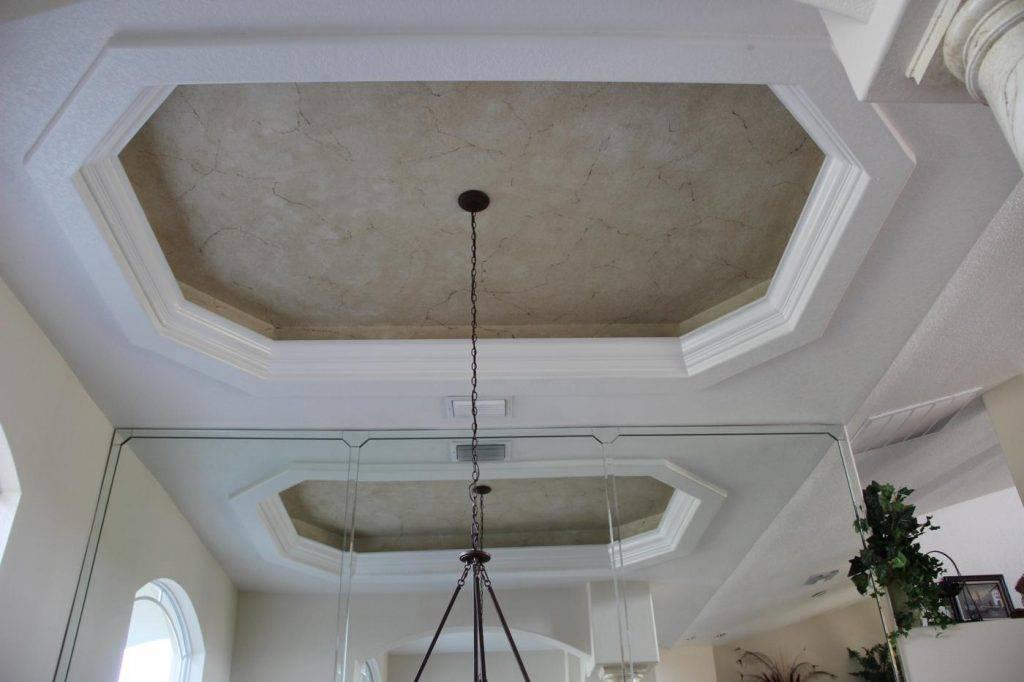 Покрасить потолок без разводов: как это правильно сделать? подробное описание работы