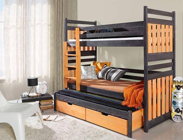 Дизайн детской комнаты с двухъярусной кроватью: 80+ фото идей интерьеров