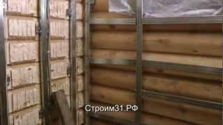 Секреты отделки деревянного дома гипсокартоном