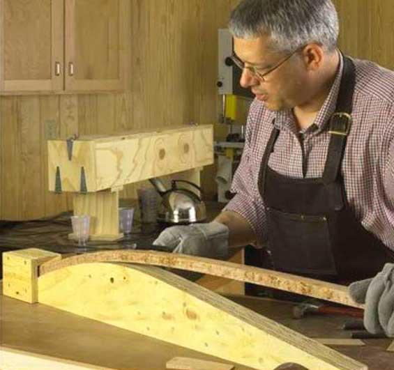 Как согнуть фанеру | в домашних условиях | видео - как согнуть лист фанеры своими руками