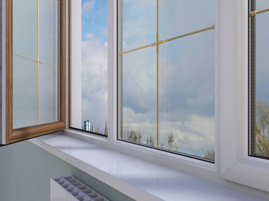 Пластиковые окна могут быть красивыми – благодаря раскладкам