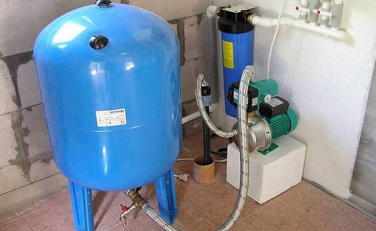 Основные моменты использования гидроаккумулятора при подключении системы водоснабжения
