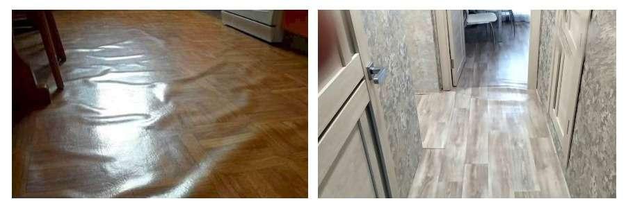 Как стелить линолеум на деревянный пол: рекомендации по укладке