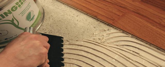 Как приклеить ламинат на стену - подбираем клей и разбираем основные рекомендации