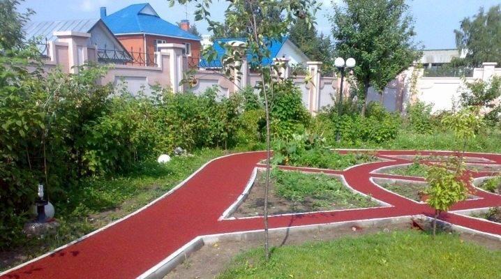 Как просто сделать садовую дорожку из плитки на даче или участке - 5 шагов с фото - школа ремонта