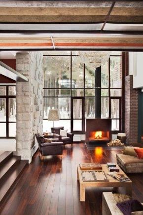 Гостиная с двумя окнами: варианты дизайн-проектов
