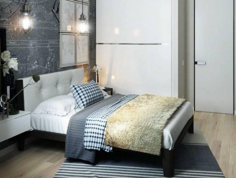 Спальня 10 кв. м. - 100 фото современных идей для маленьких комнат