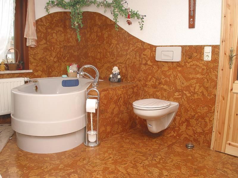 Пробковый пол: особенности напольного покрытия