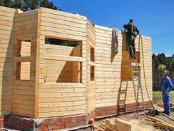Дом из бруса:  возможно ли строительство своими руками, технология, проект, стоимость