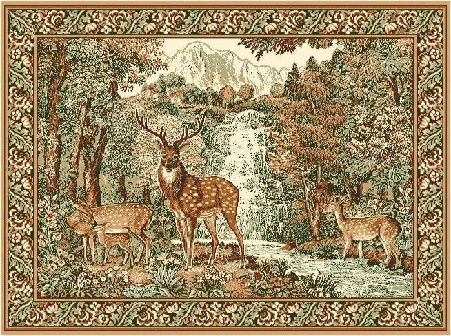 Ковры картины с изображением животных | настенные ковры с животными интернет магазин