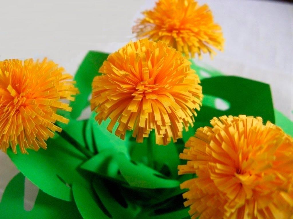 Цветы из бумаги своими руками: 150 фото, 25 способов как сделать бумажные цветы
