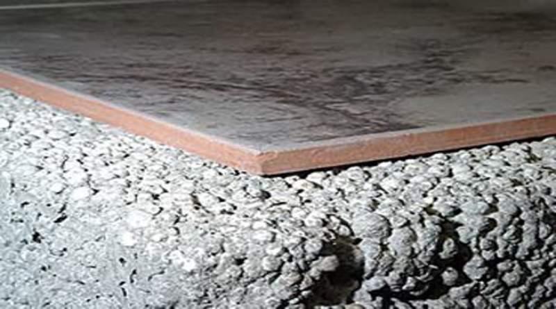 Стяжка из керамзитобетона - пропорции мокрой и полусухой смеси
