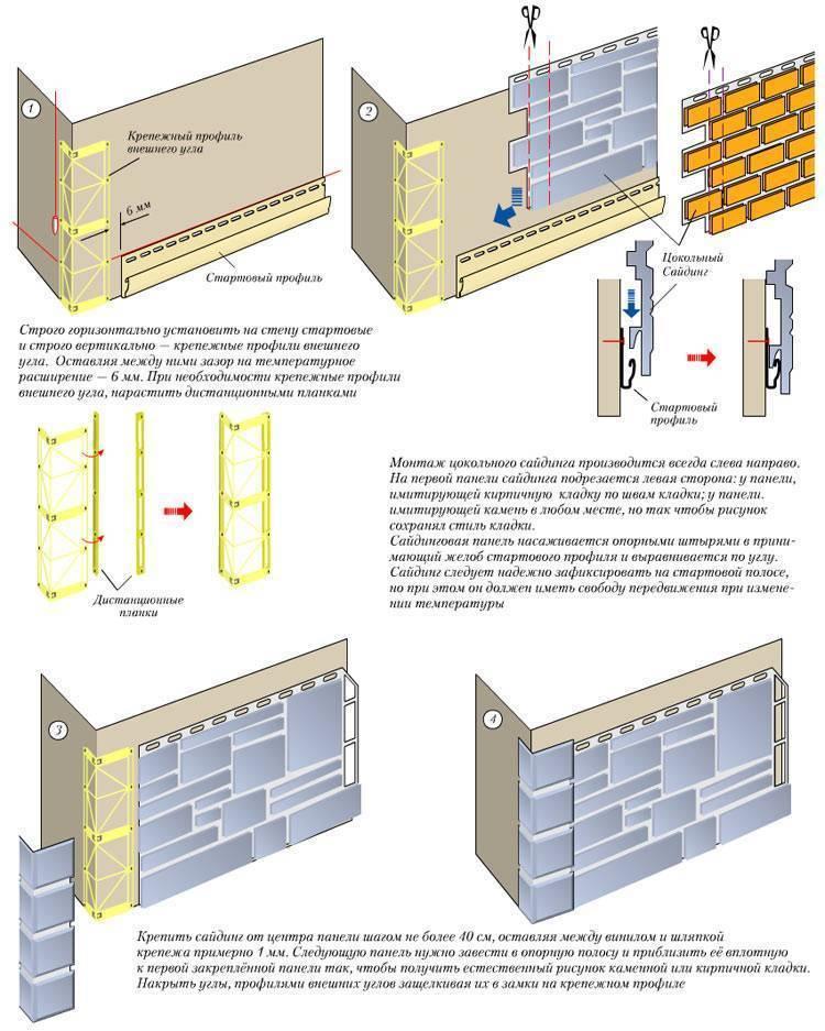 Фасадные панели «альта – профиль»: монтаж и эксплуатация + видео