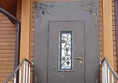 Металлические решетчатые двери - купить в королеве по цене от 8000 руб.