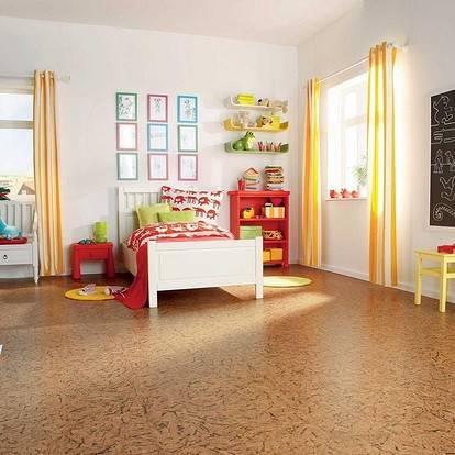 Пробковые полы на кухне: обзор «за» и «против»