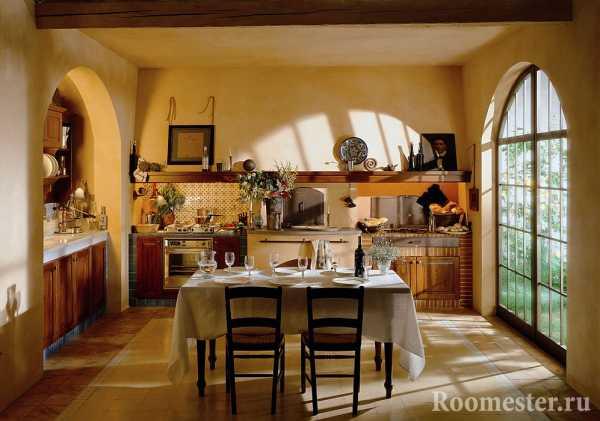 Интерьер в стиле русской избы и старинной усадьбы | домфронт
