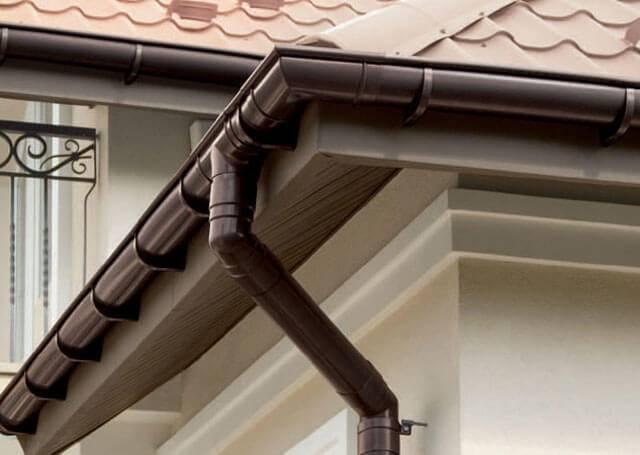 Водостоки для крыши своими руками: как сделать водосточную систему