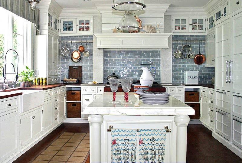 Кухня в морском стиле, как правильно оформить