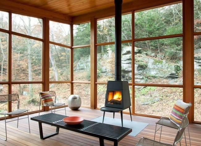 Дровяные камины для дома: виды, критерии выбора, установка
