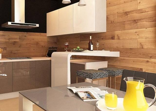 Дизайн стен на кухне. на что нужно обратить внимание, при планировании стен на кухне?