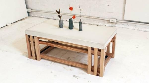 Журнальный столик: изготовление из подручных материалов