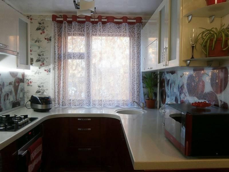 Какие шторы на кухню: 130 фото популярных видов дизайнерских штор