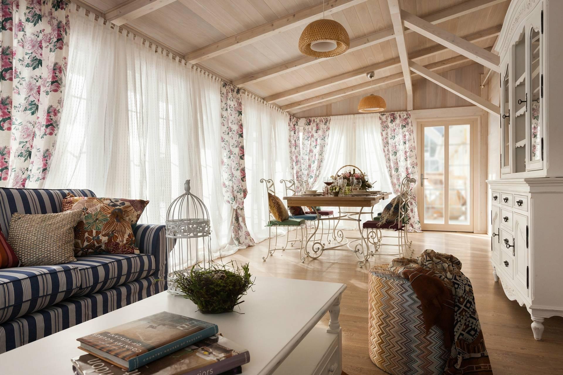 Дизайн интерьера в стиле прованс, примеры оформления, фото