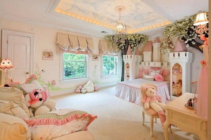 Потолок в детской комнате - варианты оформления потолка в детской