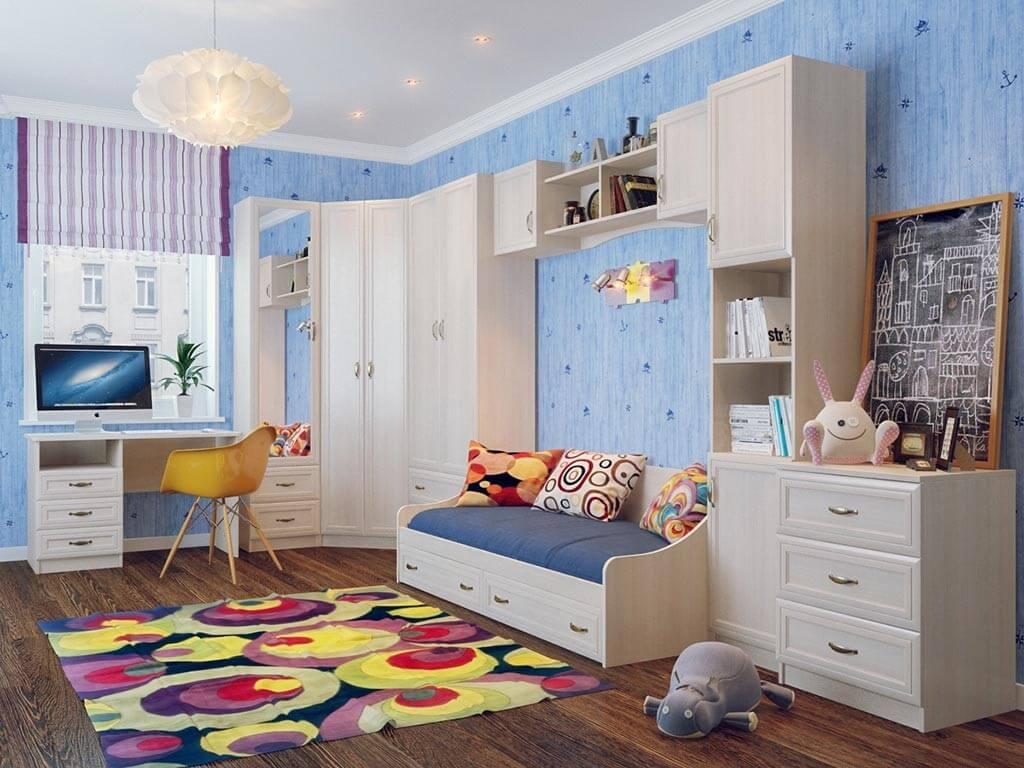 Как выбрать удобный шкаф в детскую комнату?